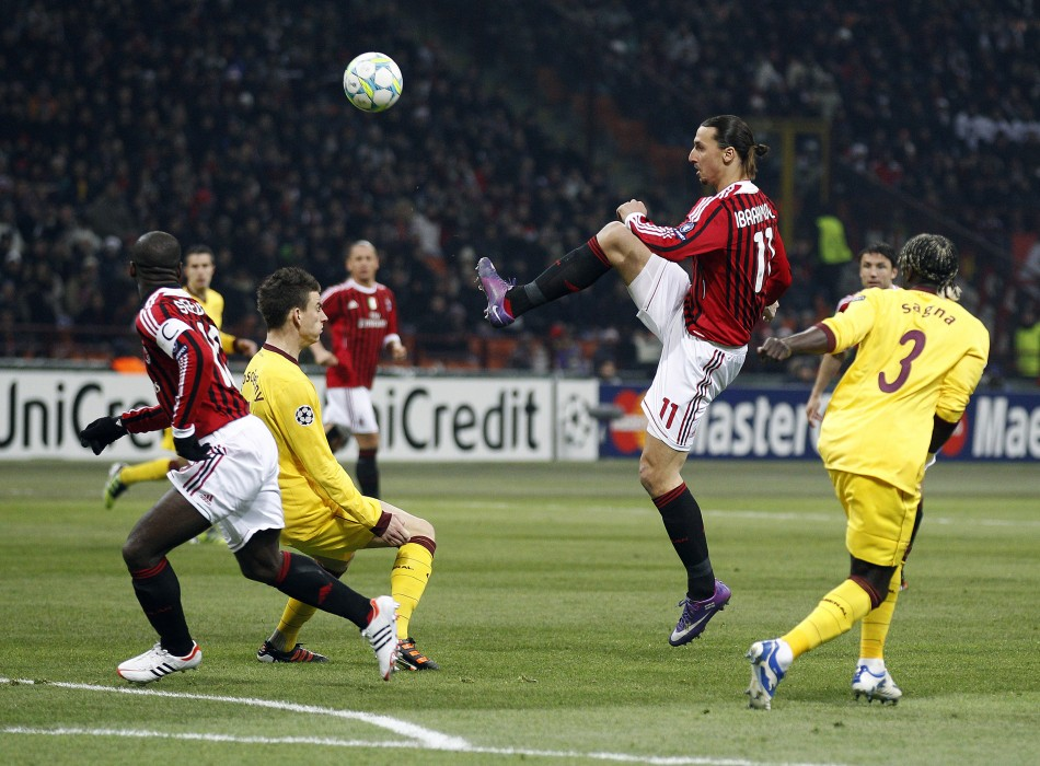 AC Milan vs. Arsenal Champions League Round of 16 First Leg