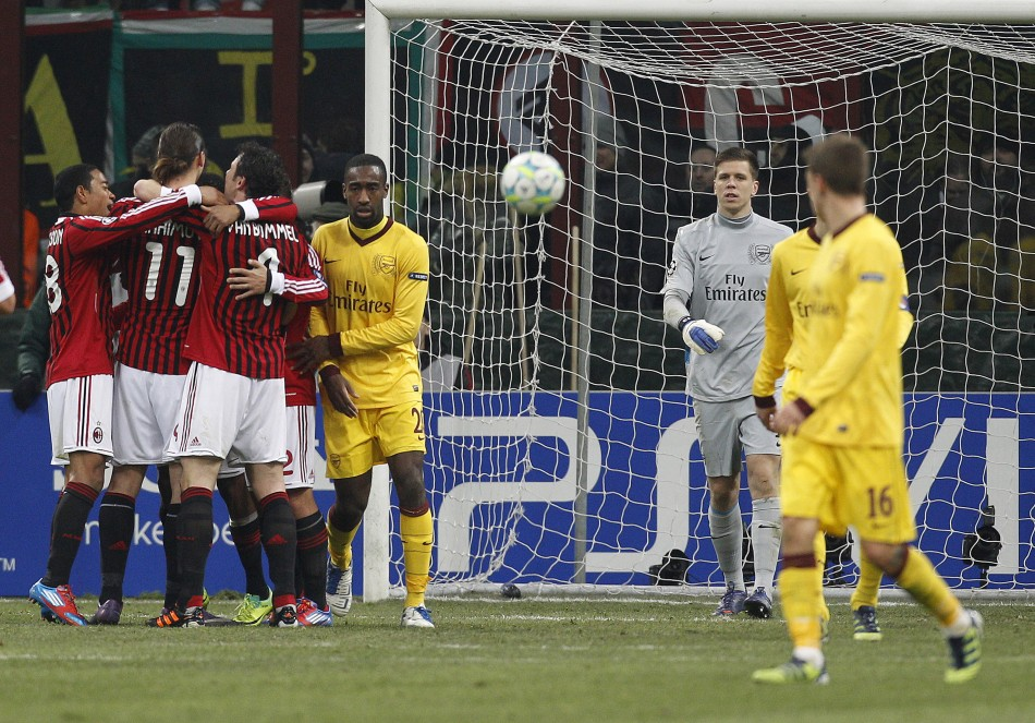 AC Milan v Arsenal