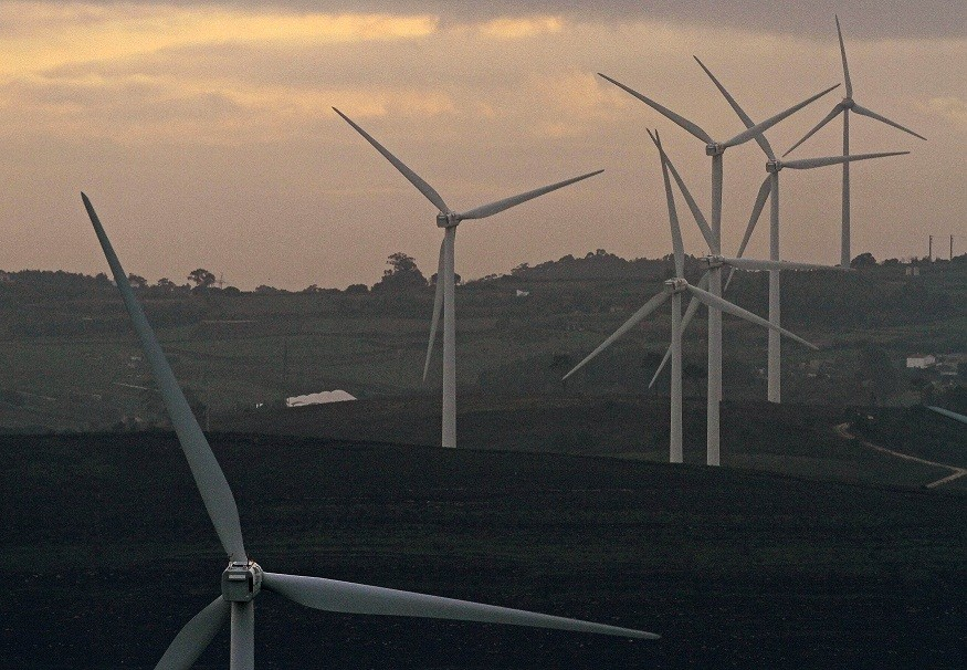 The turbines in Wales could power 23,800 households.  (Reuters)