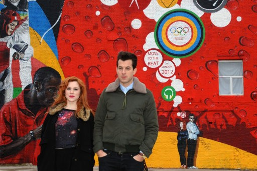 Music producer Mark Ronson and singer Katy B