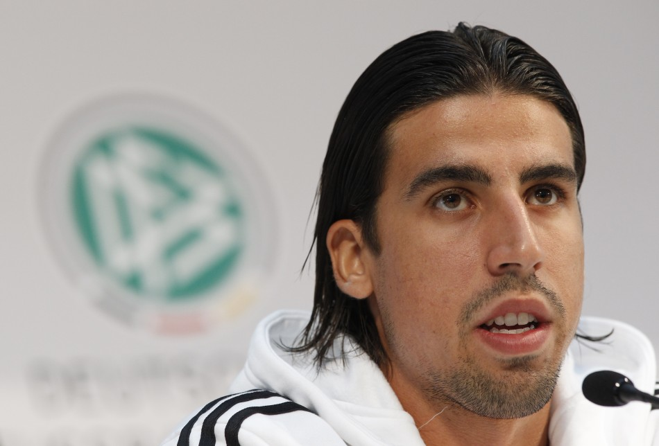 Real Madrid player Sami Khedira
