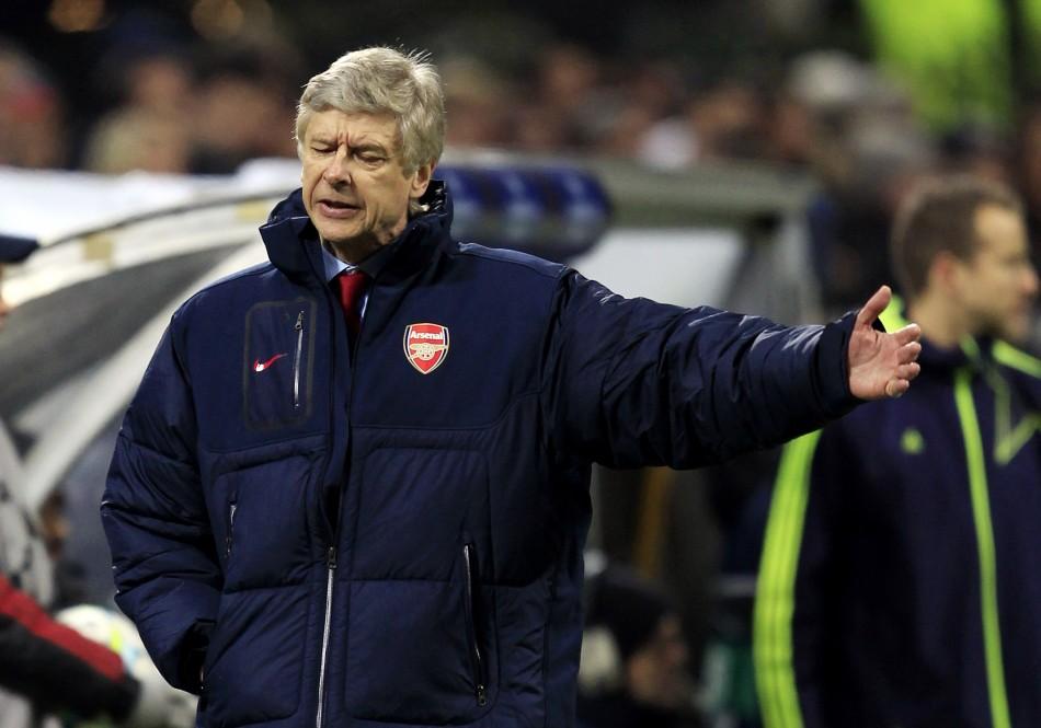 Arsenal's manager Arsène Wenger