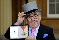 Queen Elizabeth Honours Scottish Comedian Ronnie Corbett with CBE