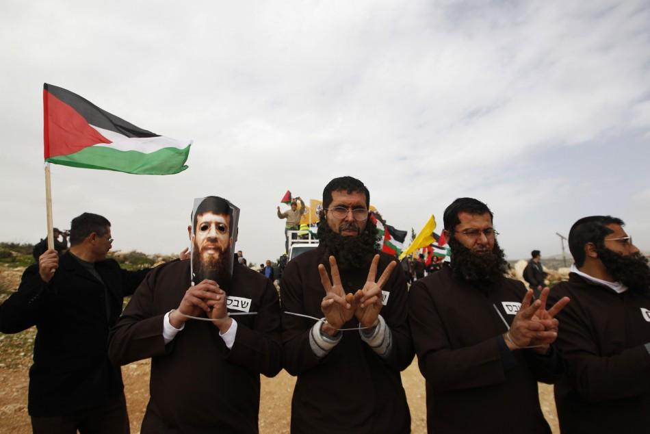 Palestinian Hunger Strike Rally