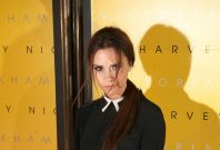 Victoria Beckham Launches New Collection at Harvey Nichols Prior to LFW