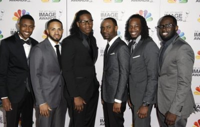 Musical group Committed arrive at the 43rd NAACP Image Awards on Friday, Feb. 17, 2012, in Los Angeles