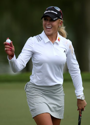 natalie gulbis� body paint photos to raise funds for