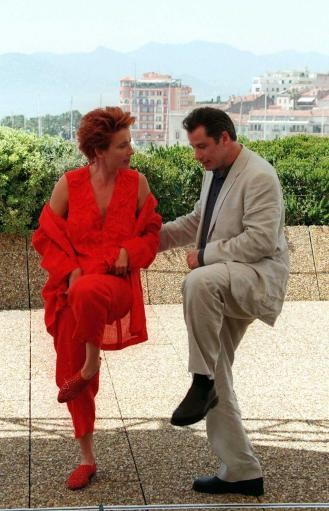 Emma Thompson and John Travolta
