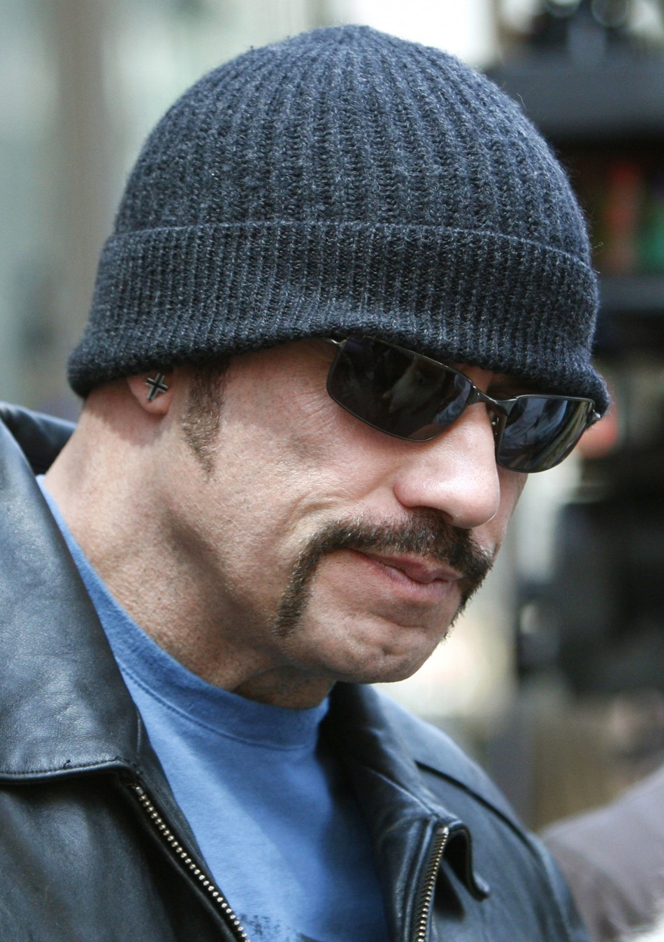Actor John Travolta, dressed as his character Ryder