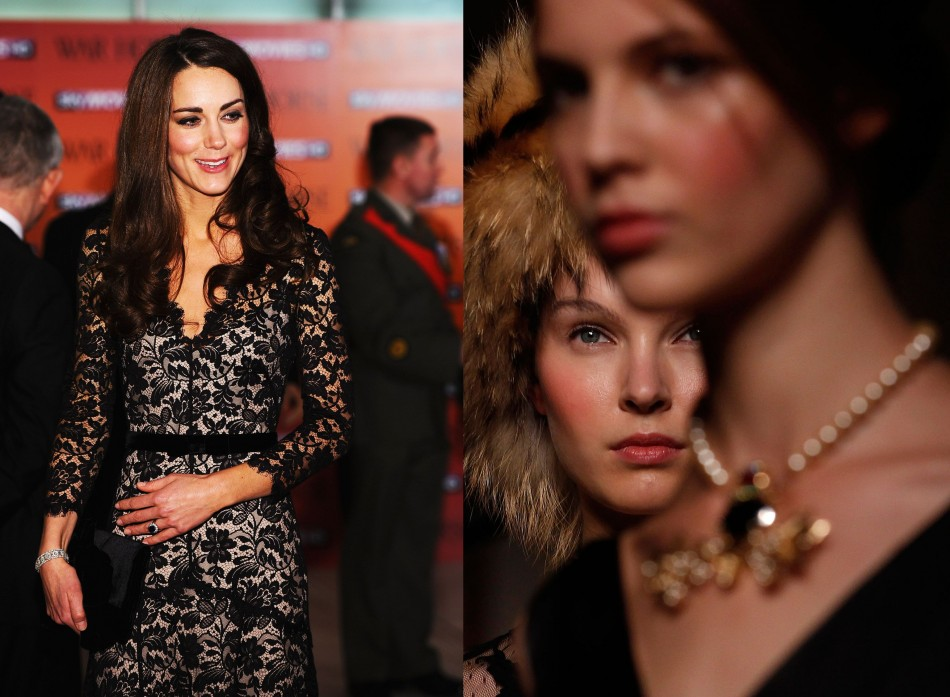 Kate Middletons Favourite Labels Issa and Temperley at 2012 London Fashion Week