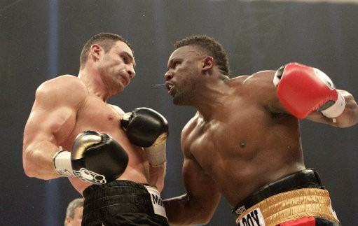 Dereck Chisora and Vitali Klitschko's match