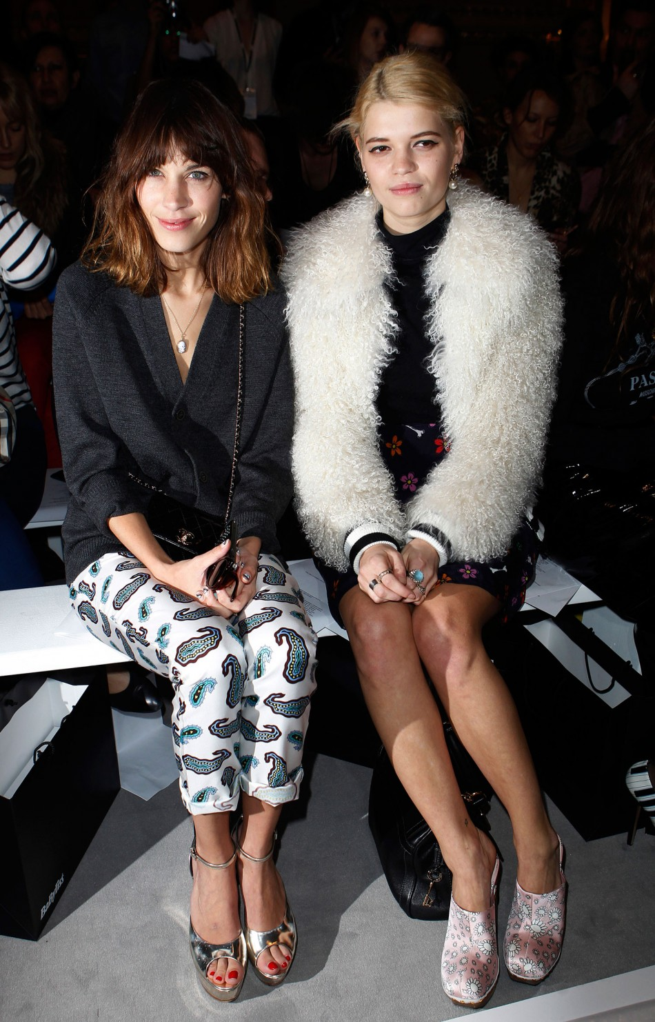 London Fashion Week 2012 Front Rows and Celebrities