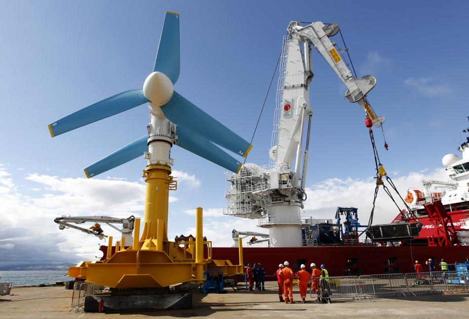wind and tidal power