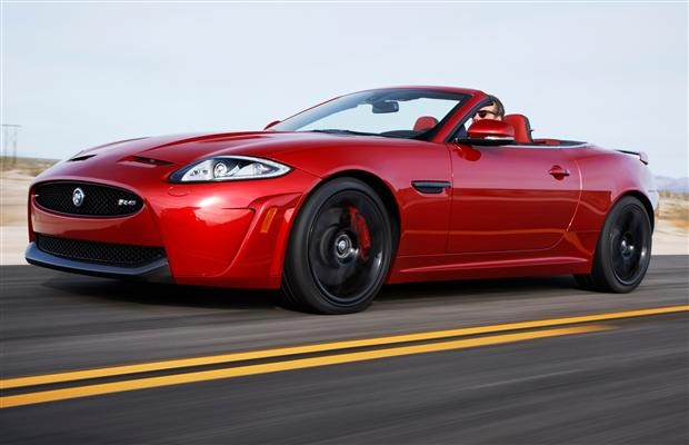 The new Jaguar XK Artisan SE model
