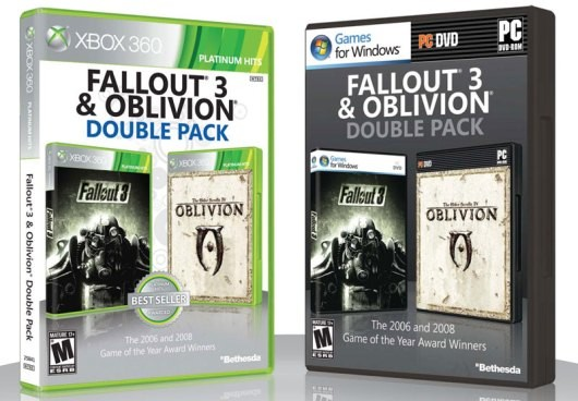 Fallout 3 and Oblivion Double Pack Offer