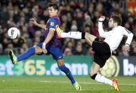 Spain Soccer La Liga : Barcelona v Valencia