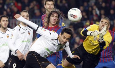 Spain Soccer La Liga  Barcelona v Valencia