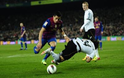 Messi Scores 4 as Barcelona Destroy Valencia 5-1[PHOTOS ...