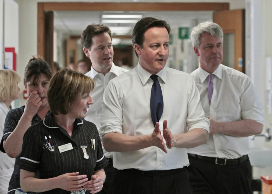 YouGov poll shows trust in prime minister waning over NHS reforms