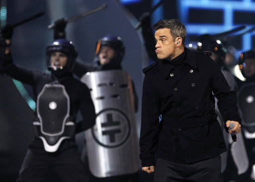 4. Robbie Williams