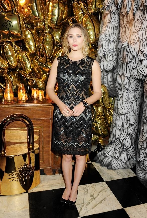 Anna Wintour, Alexa Chung, Elizabeth Olsen and Others at Mulberrys Star Studded Gala