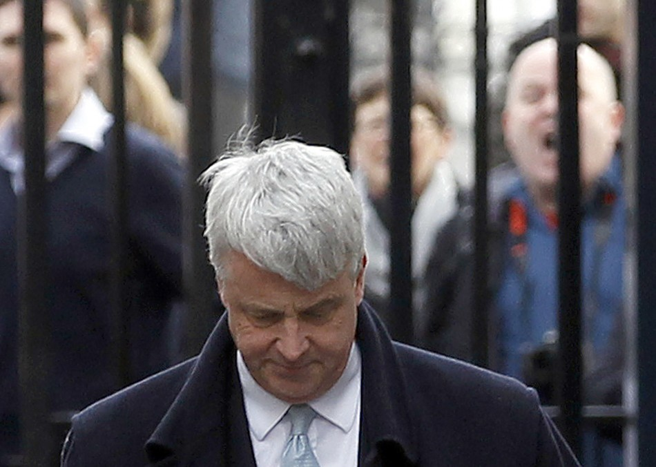 Health secretary Andrew Lansley heckled by protesters