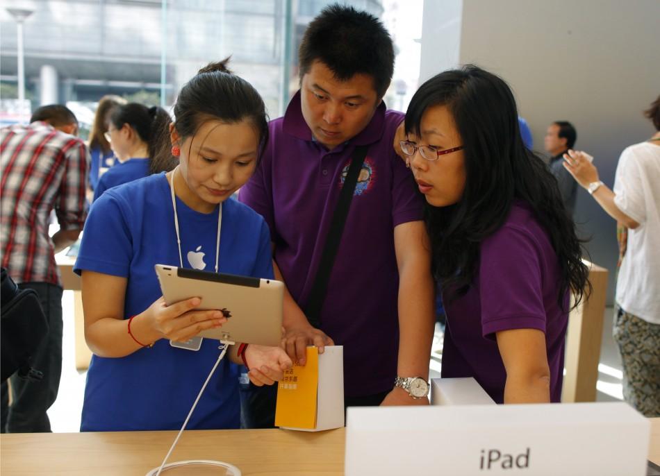 China iPad sales ban
