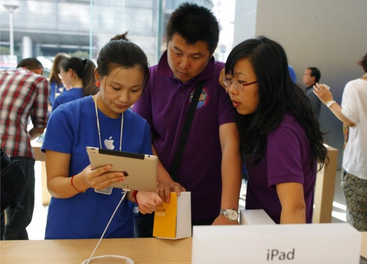 China iPad sales ban