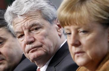 Merkel and Gauck