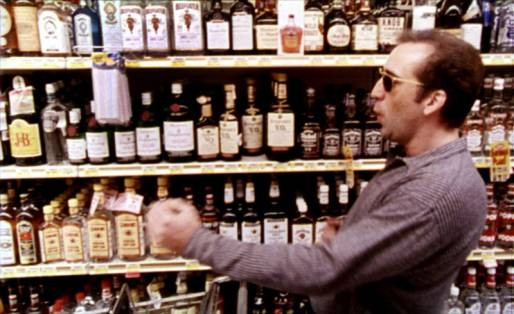 Alcohol in films
