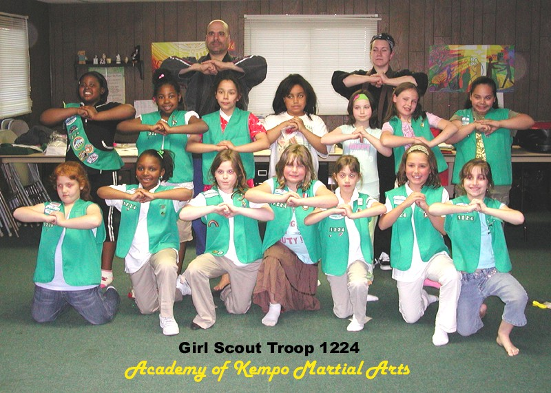 Girl Scout Troop 1224, of Bergen County, New Jersey