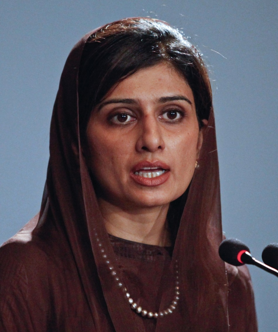 Pakistan Foreign Minister Hina Rabbani Khar