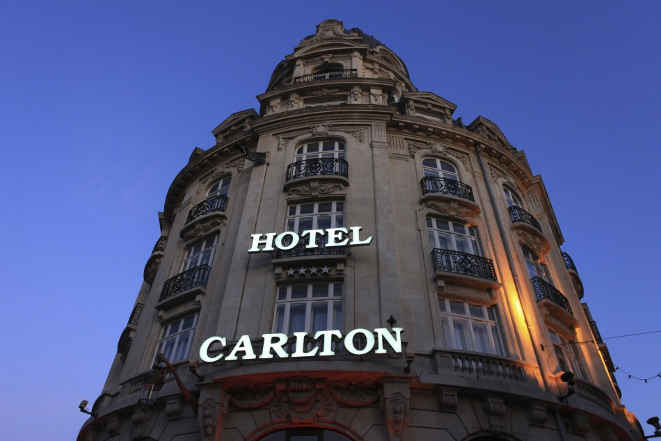 Hotel Carlton in Lille, northern France