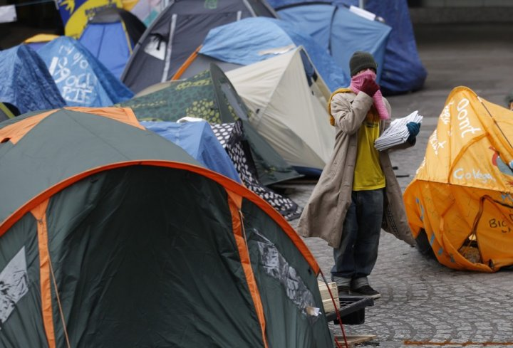 Occupy London encampment at St Paul's Cathedral faces eviction if judges reject camp's appeal on 22 February