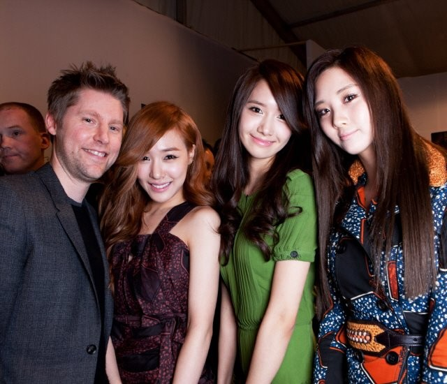 Burberry CCO Christopher Bailey and Girls' Generation