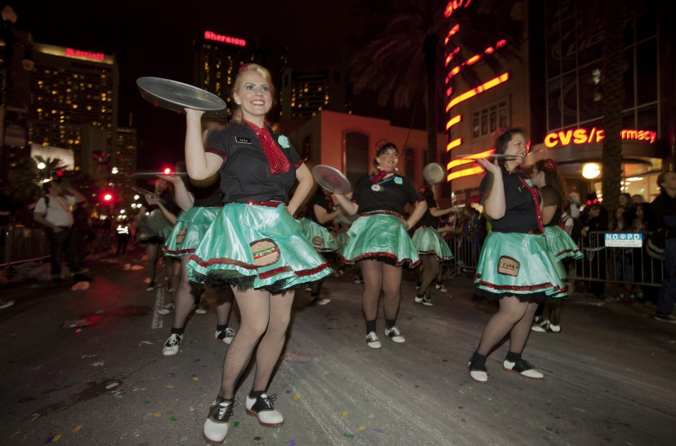 Mardi Gras: Orpheus Parade, New Orleans