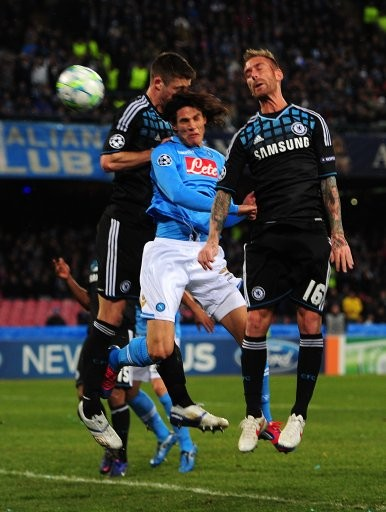 UEFA Champions League - Round of 16 - First Leg - Napoli v Chelsea - Stadio San Paolo
