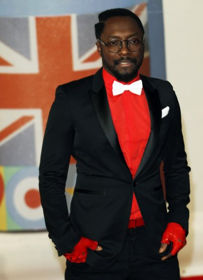 Will.i.am arrives for the BRIT Music Awards at the O2 Arena in London