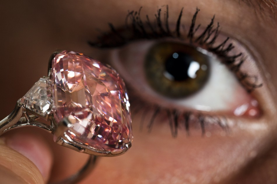 Rare Pink Diamond Found In Africa 12 76 Carat Rock