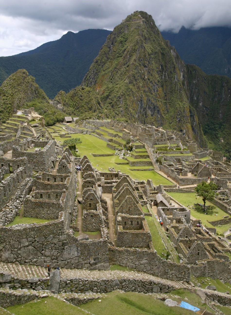 Machu Picchu In Cuzco, Peru