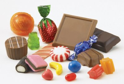 2. Chocolate and sweets