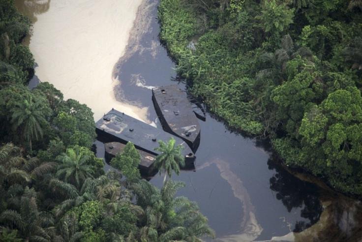 Nigeria oil runoff