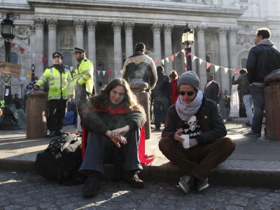 Occupy Londons first day