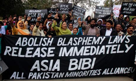 Rally in Pakistan to free Asia Bibi, Christian convicted of blasphemy