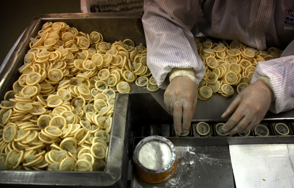 Chinese Condom Factory