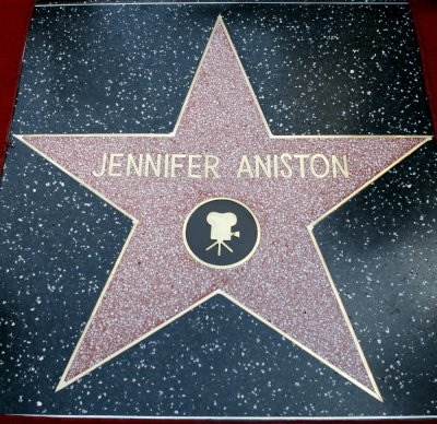 The star of actress Jennifer Aniston