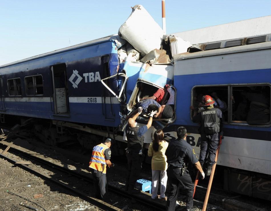 Buenos Aires Train Crash