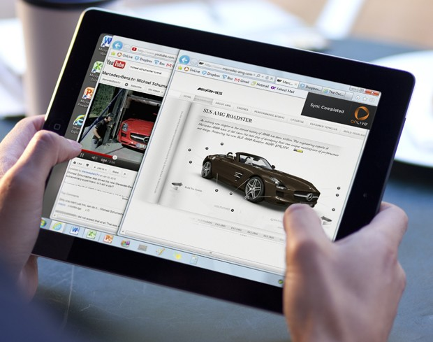 OnLive gives you Windows and Flash on your iPad