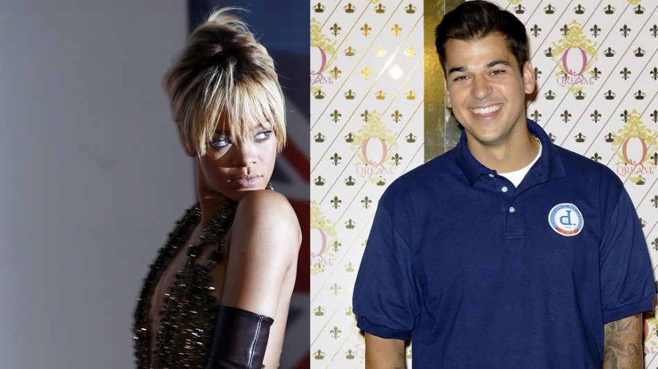 Rihanna and Rob Kardashian reportedly get together after night out at London club