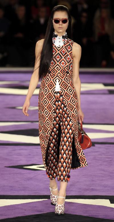 Complete Look of Pradas AutumnWinter Collection at 2012 Milan Fashion Week